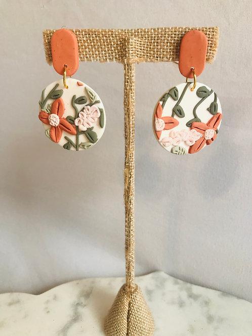Penelope Floral Hoops