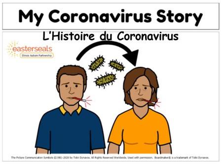 Corona Virus Social Story - Scénario social sur le Coronavirus
