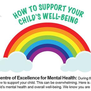 CEMH: HOW TO SUPPORT YOUR CHILD'S WELL-BEING-COMMENT FAVORISER LE BIEN-ÊTRE GÉNÉRAL DE VOTRE ENFANT