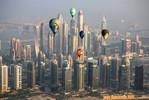 Balóny s mrakodrapy - Dubaj