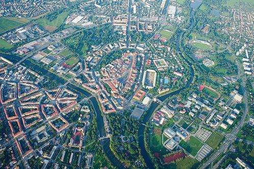 Fotka ke stažení malá - Hradec Králové z výšky