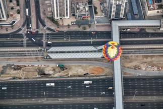 Balón nad Dubají - Dubaj 2015