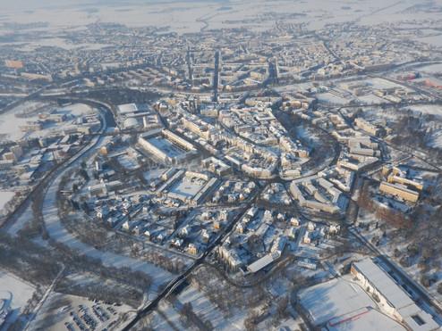 Zimní Hradec Králové