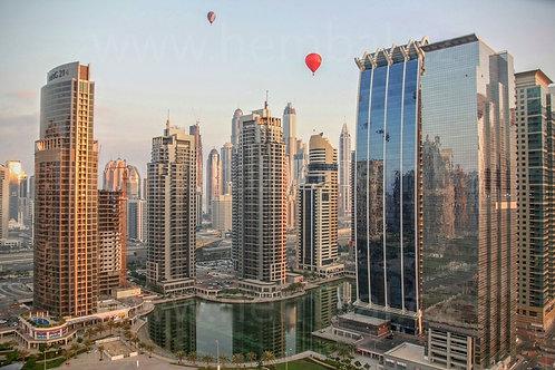 Balóny nad Mrakodrapy - Dubai