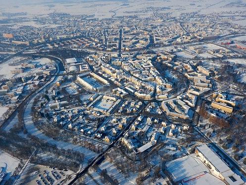 Fotka ke stažení střední - Hradec Králové v zimě