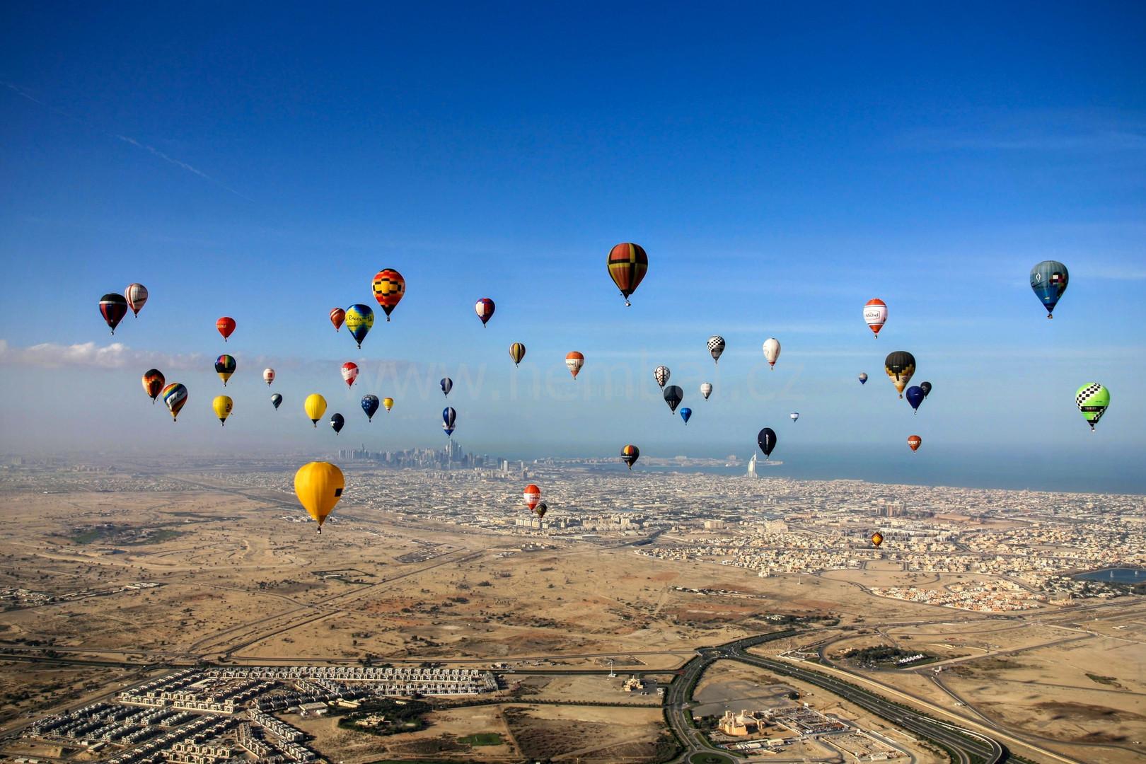 Balóny v Dubaji