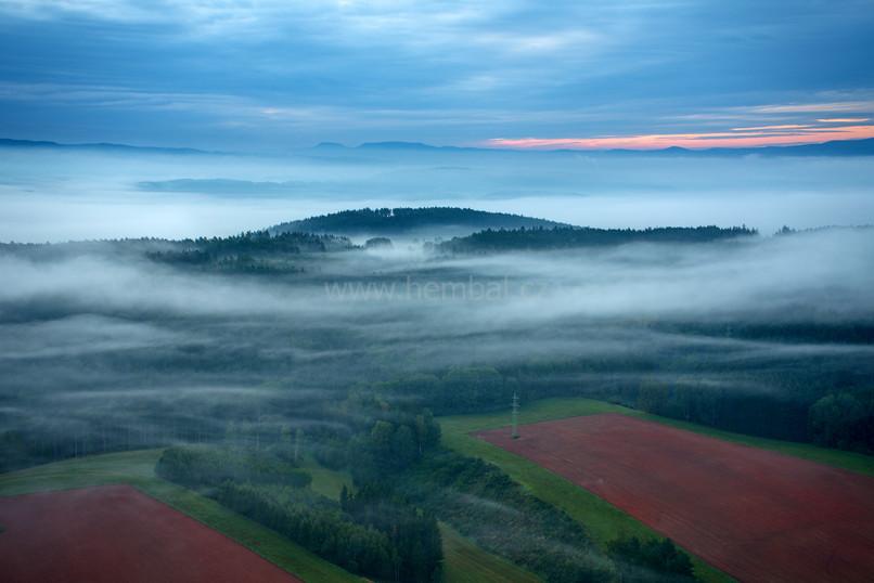 Přízemní mlhy v Podkrkonoší