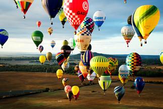 Balóny nad polem - Malorka 2019