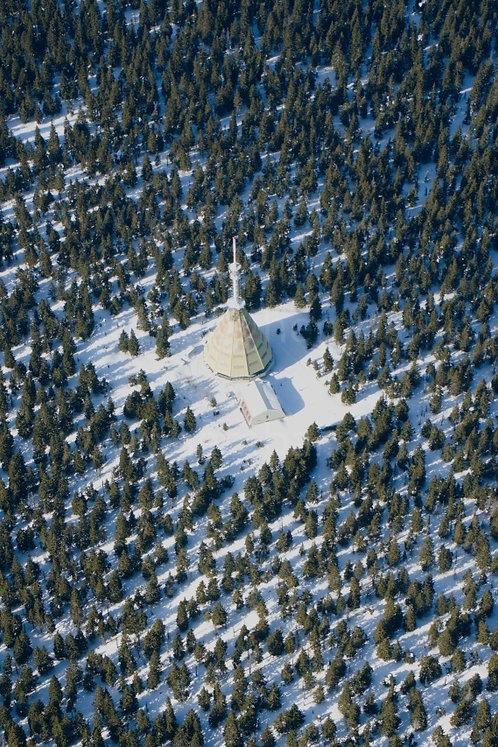 Fotka ke stažení střední - Černá hora v zimě