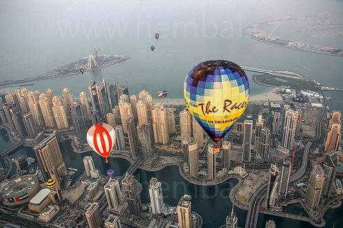 Fotka ke stažení střední - Balóny nad Dubai Marina