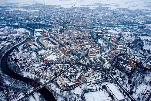 Fotka ke stažení střední - Hradec Králové v zimě 2021