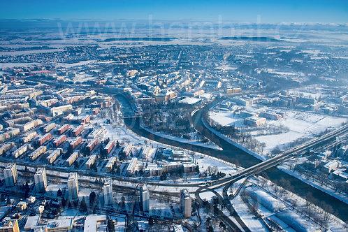 Zimní Hradec Králové 12.2.2021