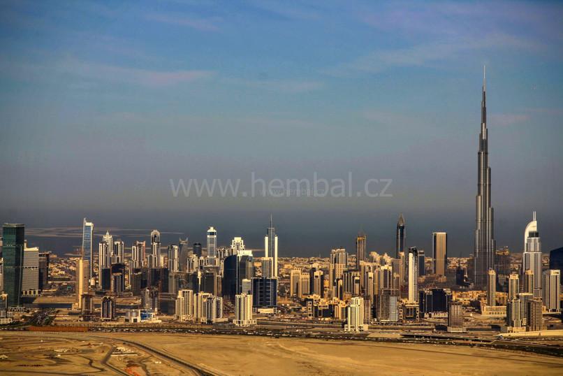 Dubaj z balónu
