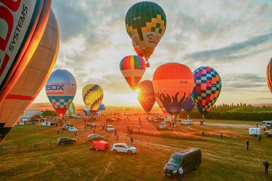 Balóny, odlet - Malorka 2019