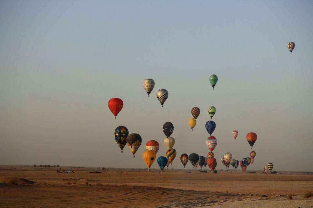 Balóny nad pouští - Dubaj
