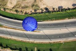 Balón nad dálnicí - Dubaj 2015