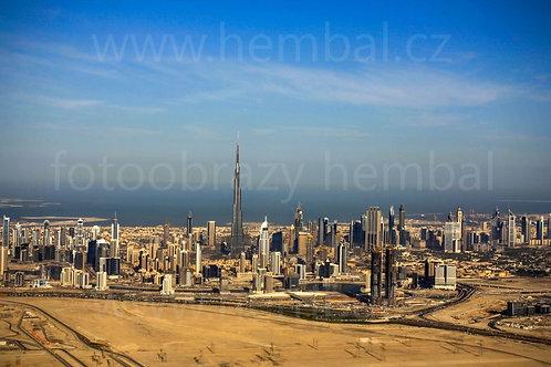 Fotka ke stažení střední - Dubaj z balónu