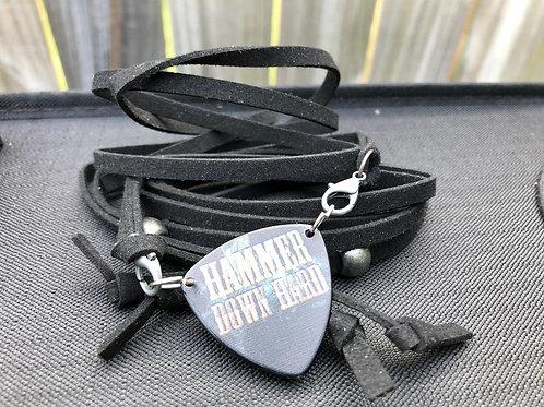 Black Suede Wrap/Wristband