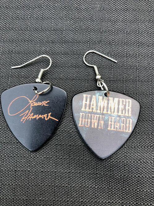 HDH/Lonnie Hammer Guitar Pick Earings