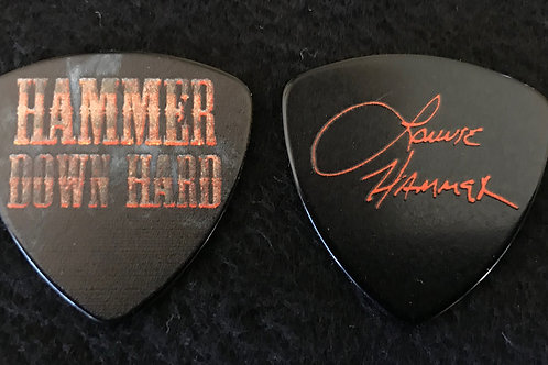 Lonnie Hammer autographed pick
