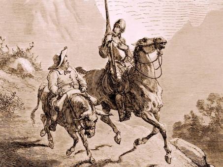 """""""Don Quijote de la Mancha"""" - Novela"""