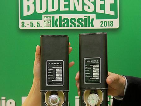 BORGWARD Sieger-Uhren auf der Bodensee-Klassik 2018