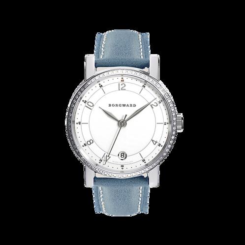 Borgward P100 Automatic Medium Classic Diamond White