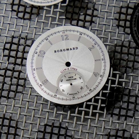 Zifferblatt der Taschenuhr