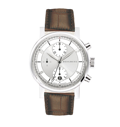 Borgward P100 Chronograph Silver