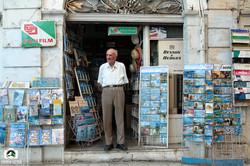 Postcard Salesman