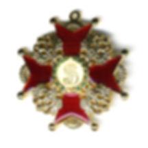 Знак Ордена Святого Станислава