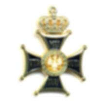 Знак Ордена Военного достоинства VIRTUTI MILITARI