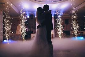 brides wedding party in the elegant rest