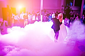 Amazing first wedding dance of newlyweds