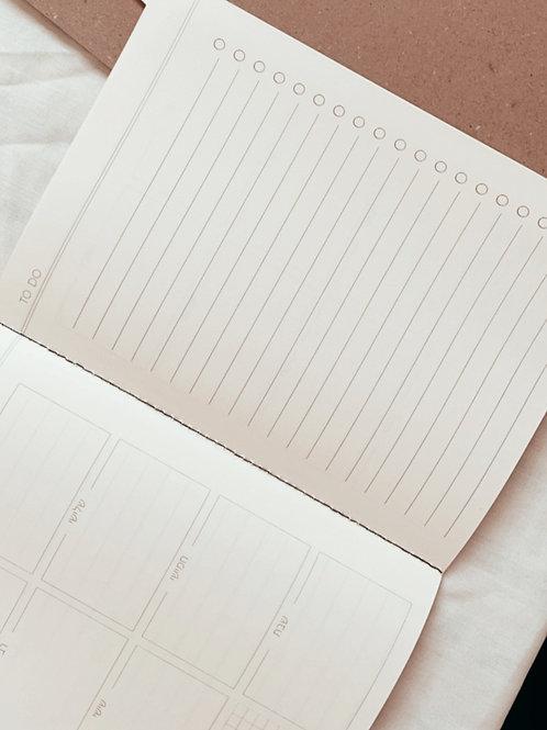 Konshu Weekly Plan