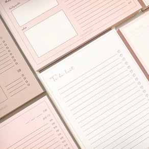The bettering myself notepads collection