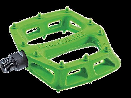 DMR V-6 PEDALS green