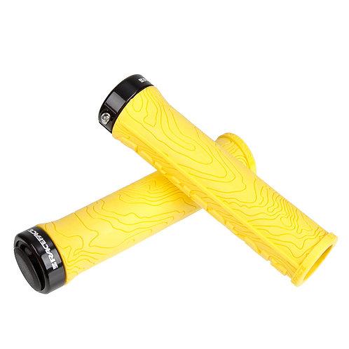 RACEFACE  MTB GRIPS HALF NELSON LOCK-ON yellow