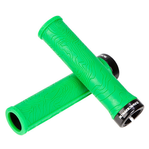 RACEFACE  MTB GRIPS HALF NELSON LOCK-ON green
