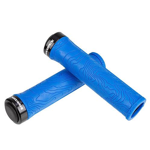 RACEFACE  MTB GRIPS HALF NELSON LOCK-ON blue