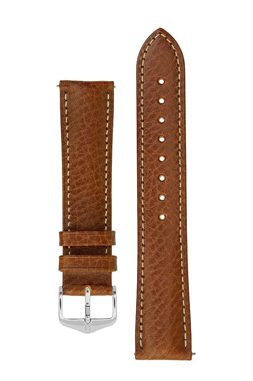 Cinturino per orologio in pelle marrone