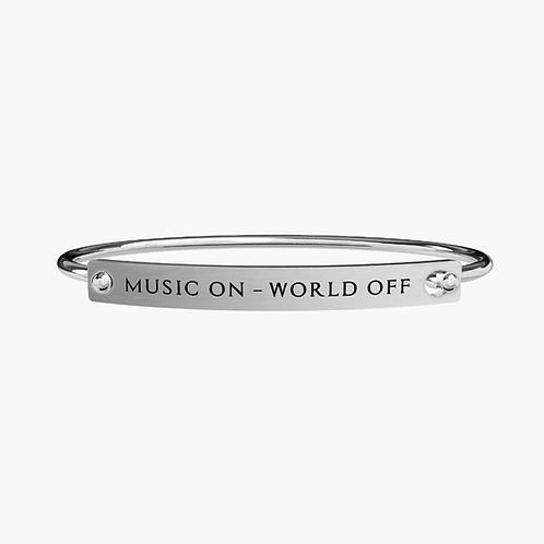 Kidult MUSIC ON - WORLD OFF