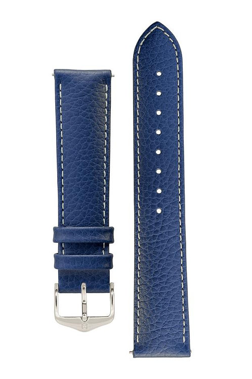 Cinturino per orologio in pelle blu