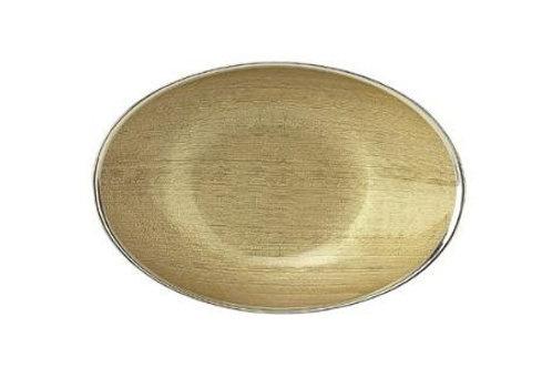 Ciotola Dogale  ovale colore oro 31x21 cm. 51.36.2113