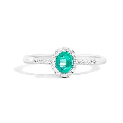 Recarlo Anello Smeraldo e Diamanti R33CG251/SM