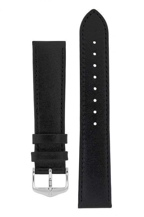 Cinturino per orologio in pelle nera