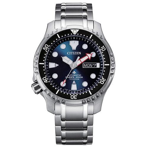 CITIZEN Diver's Automatic 200 mt Super Titanio NY0100-50M