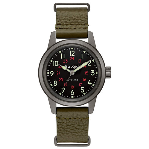 Bulova Uomo Military Hack Watch 98A255