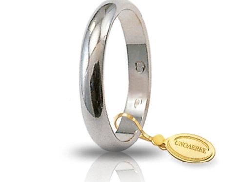 Fede Unoaerre Classica 4 Gr. Oro Bianco