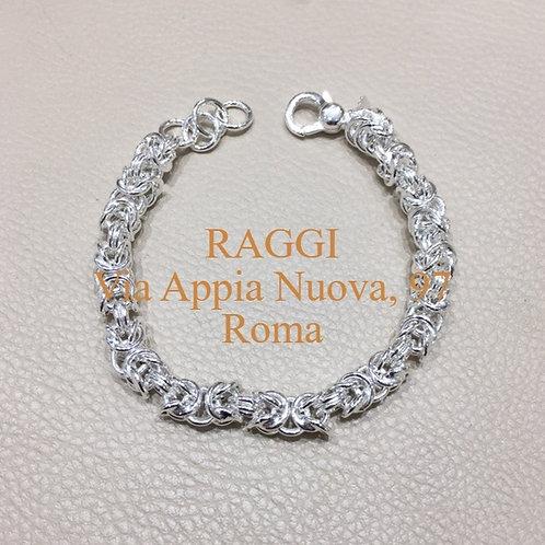 Raggi Bracciale Maglia Bizantina Grande RA0602